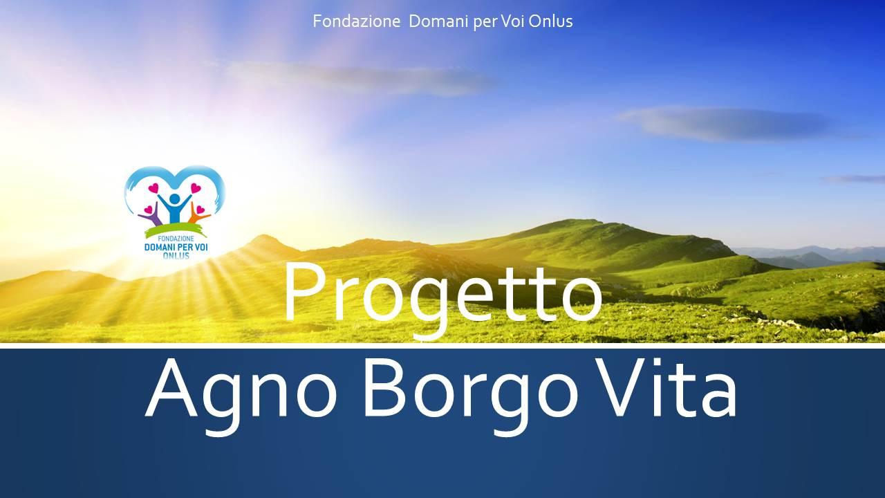 Progetto Agno Borgo copertina